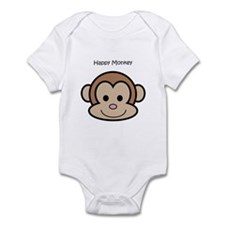 Happy Monkey Infant Bodysuit