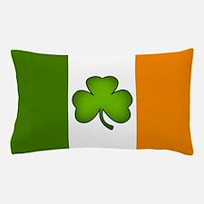 Irish Flag Shamrock Pillow Case