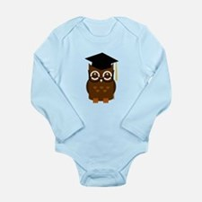 Graduation Owl Long Sleeve Infant Bodysuit