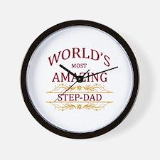 Step-Dad Wall Clock