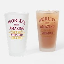 Step-Dad Drinking Glass