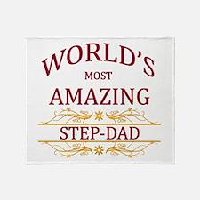 Step-Dad Throw Blanket