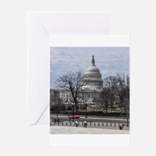 CAPITOL HILL, WASHINGTON DC Greeting Cards