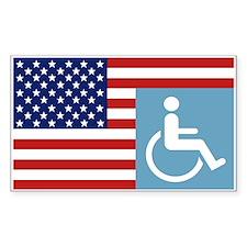 Disabled US Veteran Decal