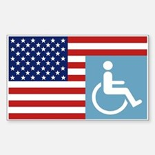 Disabled US Veteran Decal
