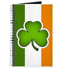 Irish Flag Shamrock Journal