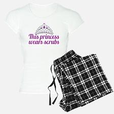 Princess Wears Scrubs pajamas