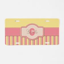 Stripes2015G2 Aluminum License Plate