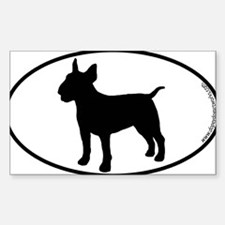 Cute Bull terrier Decal