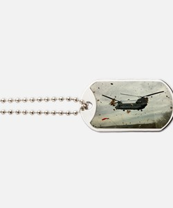 Caught in the storm Dog Tags
