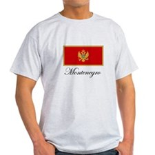 Montenegro - Flag T-Shirt