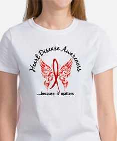Heart Disease Butterfly 6.1 Women's T-Shirt