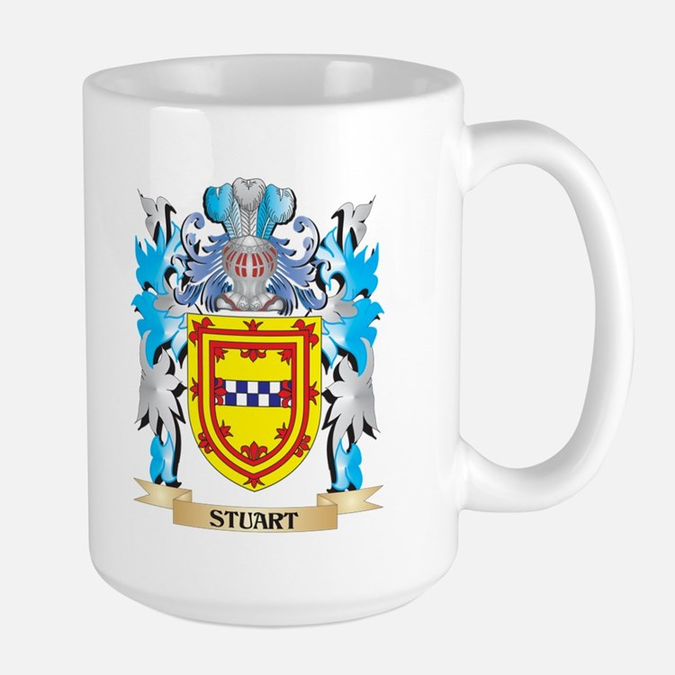 Stuart Coat of Arms - Family Crest Mugs