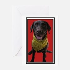 Mother's Day Smiling Lab Greeting Card