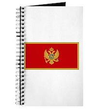 Montenegro Flag Journal