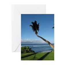 Palm Tree Blank Greeting Cards (Pk of 20)