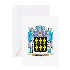 Sturgeon Coat of Arms - Family Cres Greeting Cards