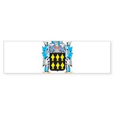 Sturgeon Coat of Arms - Family Cres Bumper Bumper Sticker