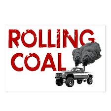 Rolling Coal Diesel Truck Postcards (Package of 8)