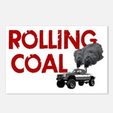 Rolling Coal Diesel Truck Postcards (Package of 8)