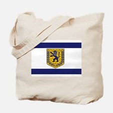 Jerusalem Municipal Flag Tote Bag