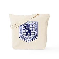 Lion of Judah White Tote Bag