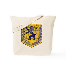 Lion of Judah Gold Tote Bag