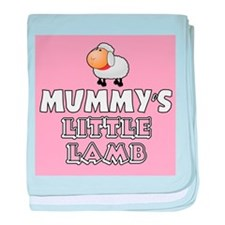 Mummys Little Lamb baby blanket