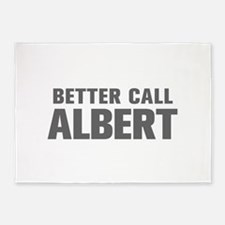 BETTER CALL ALBERT-Akz gray 500 5'x7'Area Rug