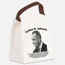 LBJ: Challenge Canvas Lunch Bag
