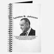 LBJ: Challenge Journal