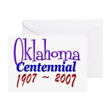 Oklahoma Centennial Greeting Card