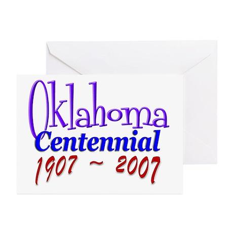 Oklahoma Centennial Greeting Cards (Pk of 10)