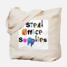 Office Supplies Tote Bag