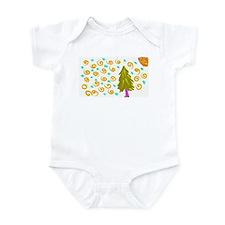 Walking Tree Snowy Infant Bodysuit