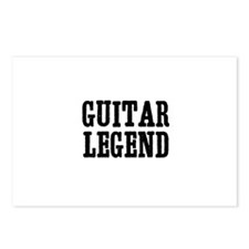 guitar legend Postcards (Package of 8)