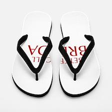BETTER CALL BRENDA-Opt red2 550 Flip Flops