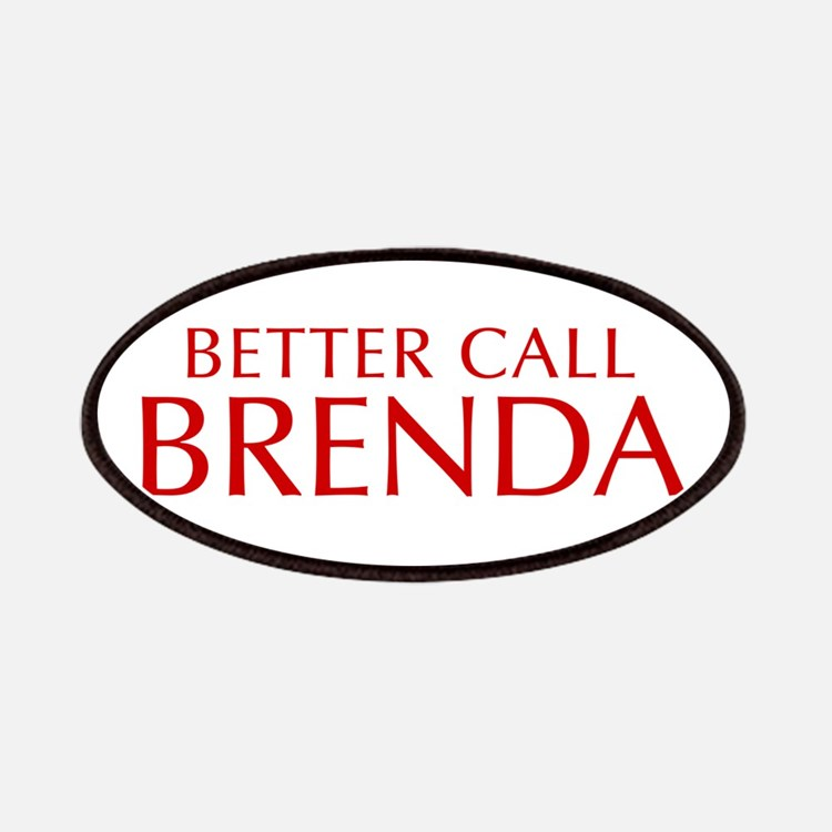 BETTER CALL BRENDA-Opt red2 550 Patch