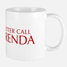 BETTER CALL BRENDA-Opt red2 550 Mugs