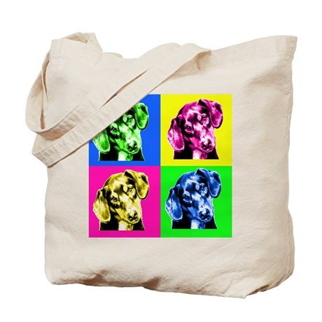 Shelter Dog Pop Art<br> Tote Bag