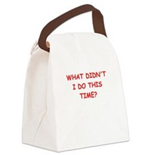 henpecked Canvas Lunch Bag