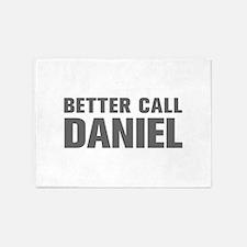 BETTER CALL DANIEL-Akz gray 500 5'x7'Area Rug