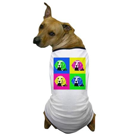 Pop Art Bagel<br> Dog T-Shirt