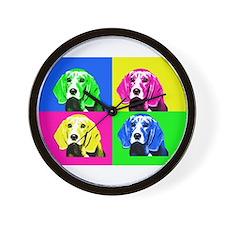 Pop Art Bagel<br> Wall Clock