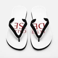 BETTER CALL DENISE-Opt red2 550 Flip Flops
