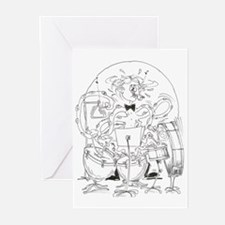 Multi-task Percussion Greeting Cards (Pk of 10)