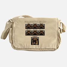 Cute Bullmastiff Messenger Bag