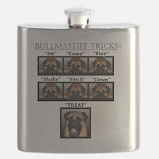 Cute Mastiff Flask