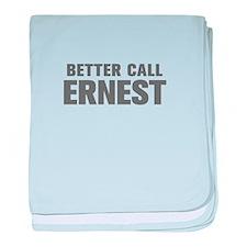 BETTER CALL ERNEST-Akz gray 500 baby blanket