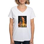 MidEve & Nova Scotia Women's V-Neck T-Shirt